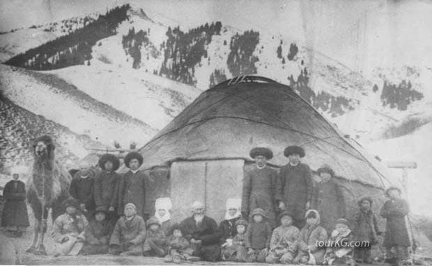 фото старая киргизка