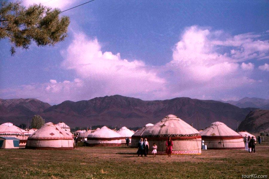 кыргызские юрты - жизнь на природе
