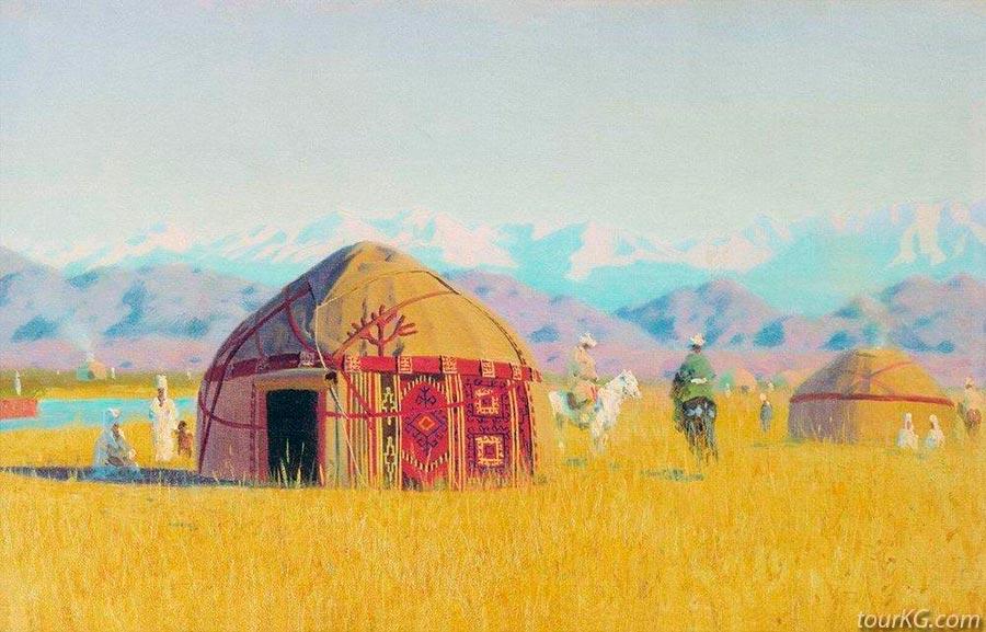 Чуйская долина в творчестве В.Верещагина