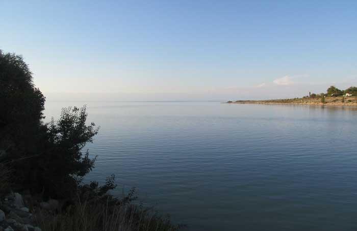Кыргызское море Иссык-Куль