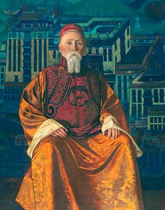 кыргызы в творчестве Рериха