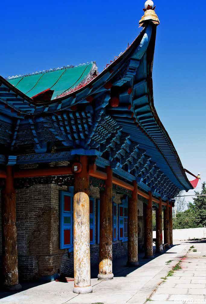 город каракол, дунганская мечеть