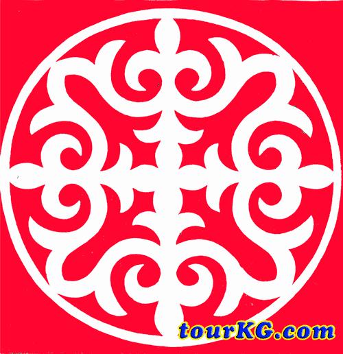 орнамент кыргызов