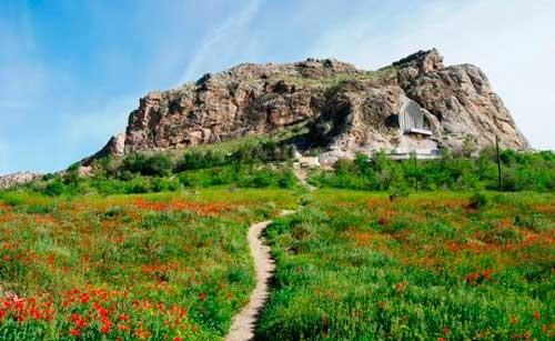 Сулейман-гора в городе Ош