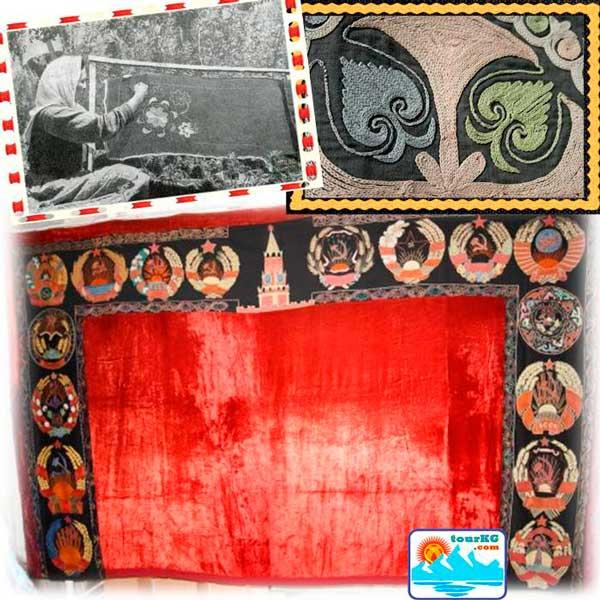 кыргызское декоративно-прикладное искусство