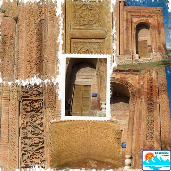Памятники Караханидского каганата в Узгене