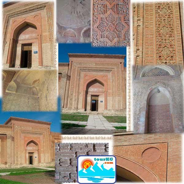 Узгенский средний мавзолей фото