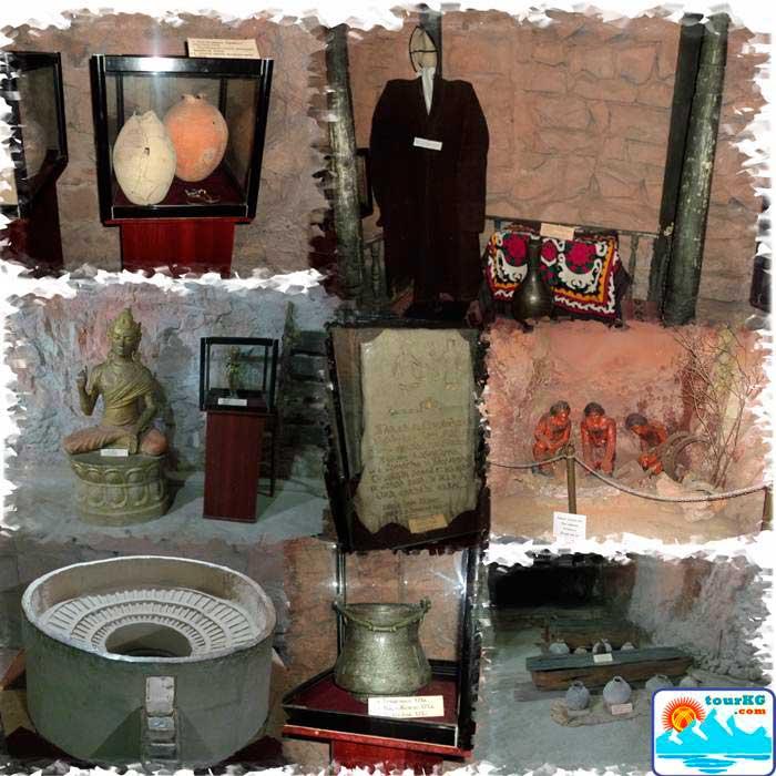 Экспонаты музея Сулейманки