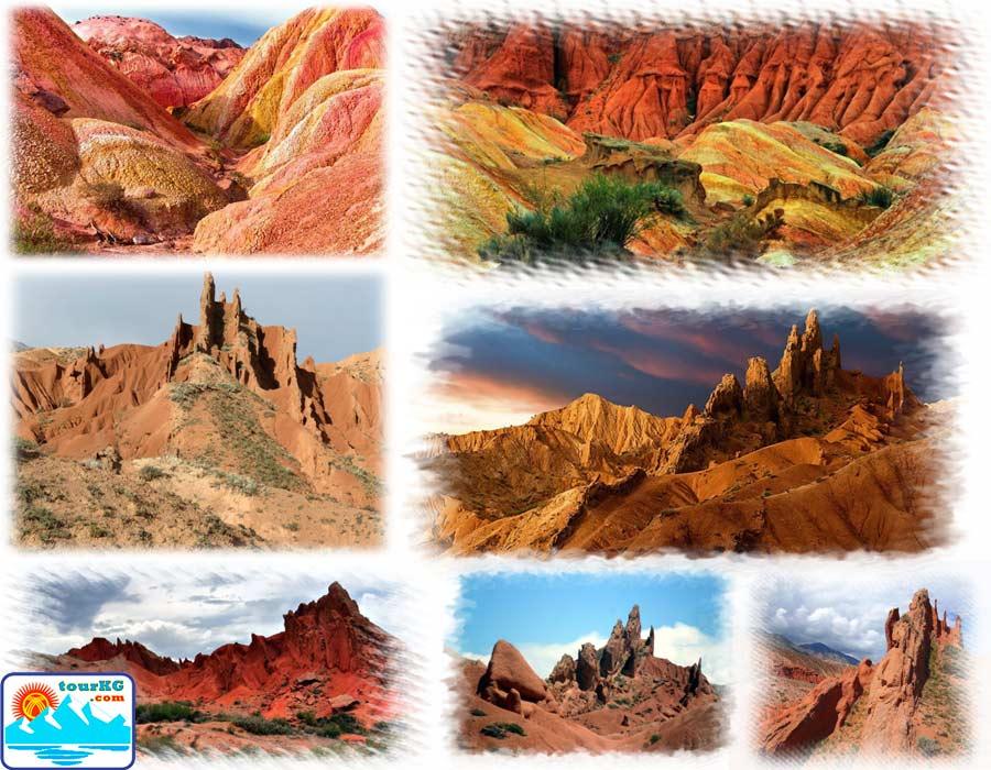 каньон Сказка Иссык-Куль