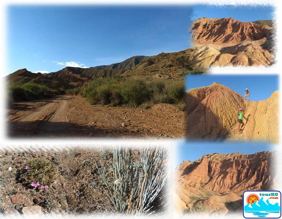 достопримечательность южного Иссык-куля - каньон Сказка