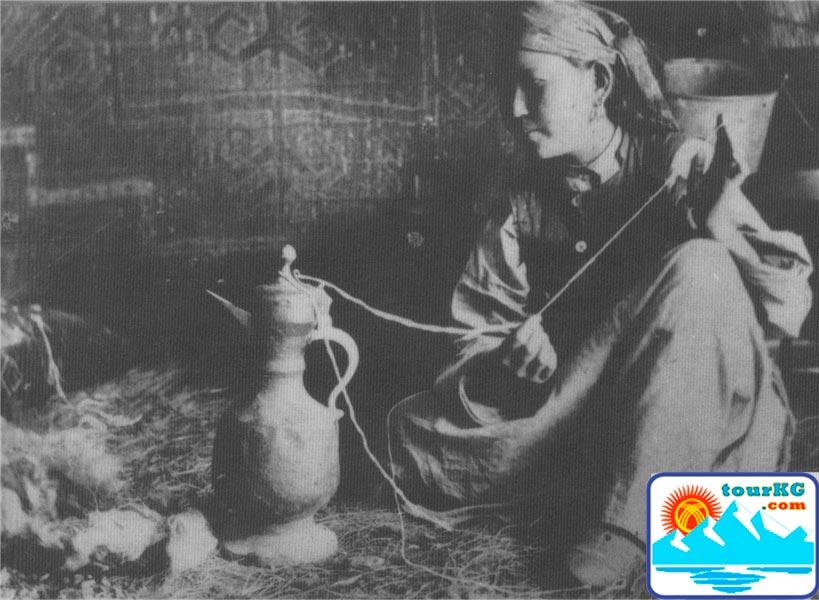 женщины кыргызки
