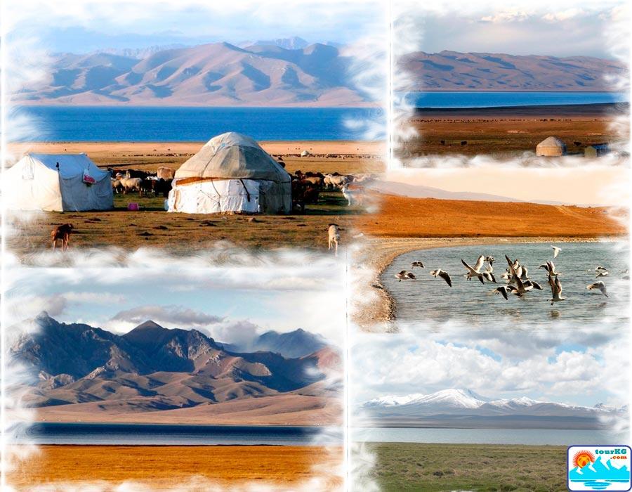 Сонкуль - второе по величине озеро в Киргизии
