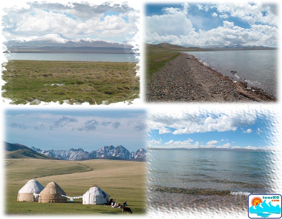 Сонкуль - самое большое озеро Кыргызстана с пресной водой